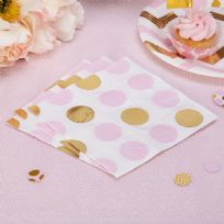 Pattern Works Pink Dots Napkins (16)